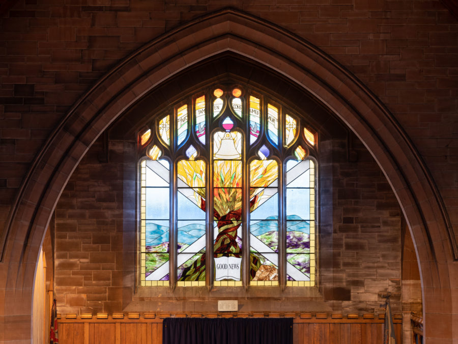 Stain glass art and craft | Colston Wellpark Parish Church | Church of Scotland | By McAteer Photo