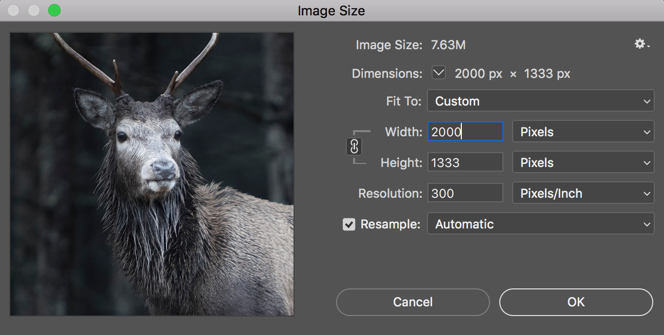 Image size | Adobe Photoshop