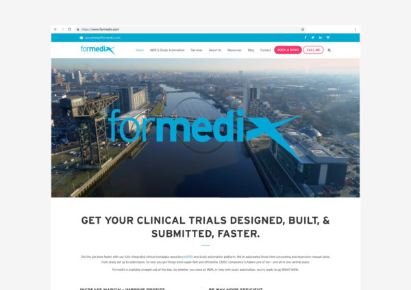Formedix | Landing page | Video by McAteer Photo