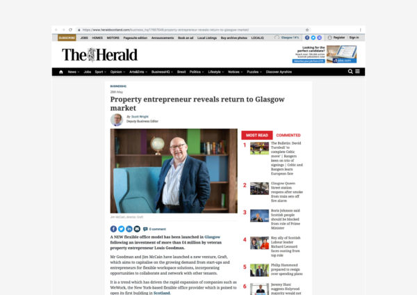 The Herald | Article | By McAteer Photo