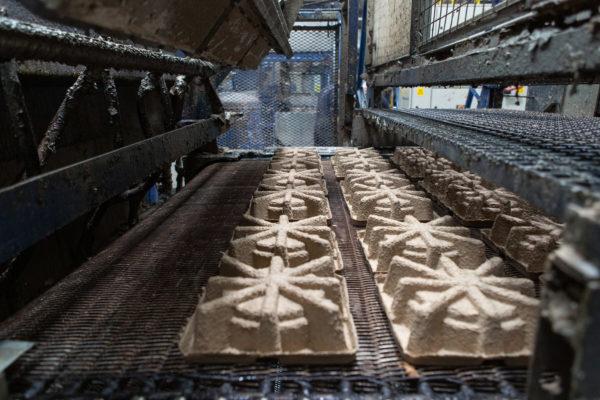 Machine | Cullen Factory - Moulded Pulp & Corrugate Packaging | By McAteer Photo