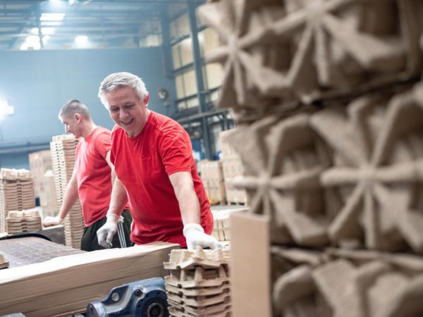 Staff at factory | Cullen - Moulded Pulp & Corrugate Packaging | By McAteer Photo