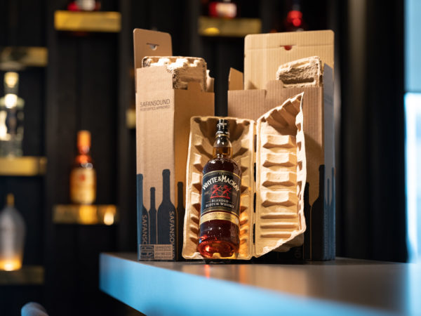 Whisky | Cullen - Moulded Pulp & Corrugate Packaging | By McAteer Photo