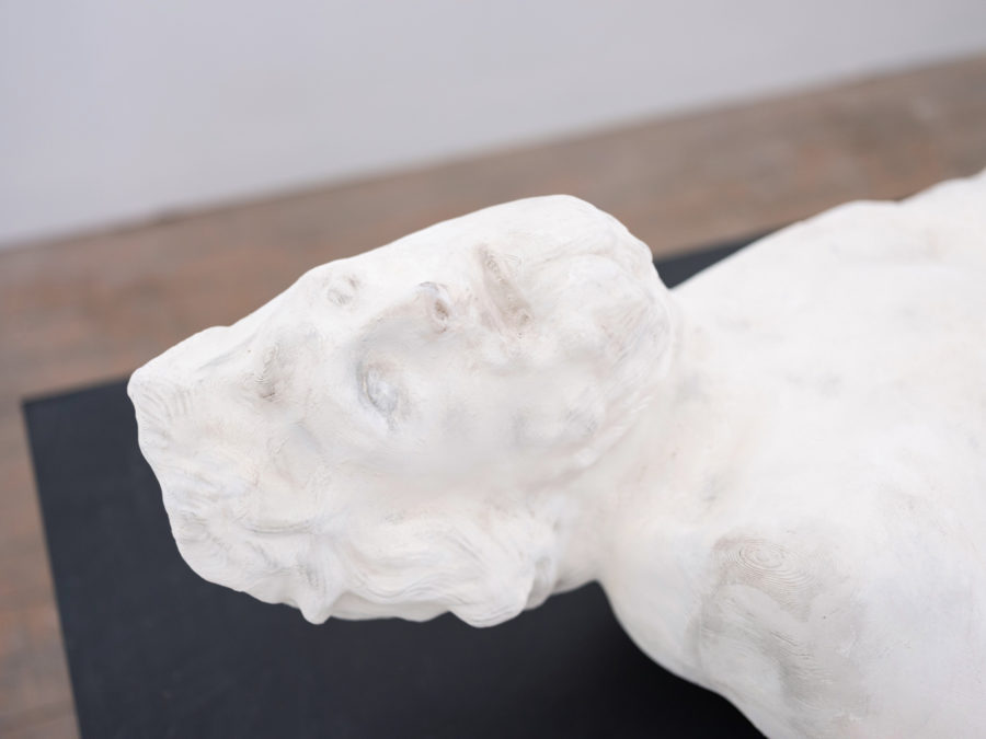 Noel Griffin | plaster cast sculpture | Image by McAteer Photo