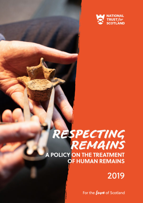 Human remains policy by the The National Trust for Scotland | Image by McAteer Photo