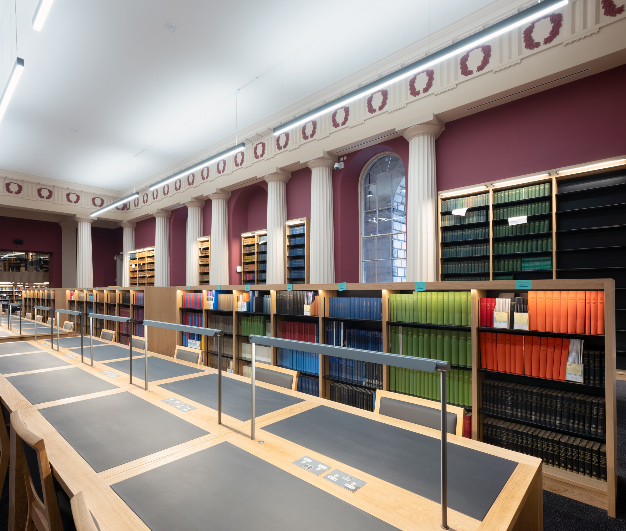 Edinburgh Law School library | Image by McAteer Photo