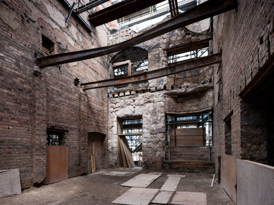A huge second fire in June 2018 caused extensive damage at Glasgow's Mackintosh building and hit multimillion-pound restoration work carried out in the aftermath of a previous blaze in 2014. | Image by McAteer Photo