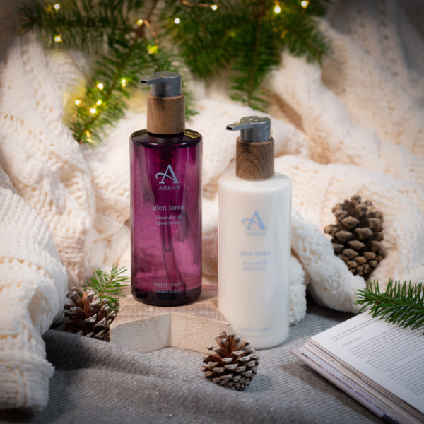 Arran Christmas campaign product photography | By McAteer Photo