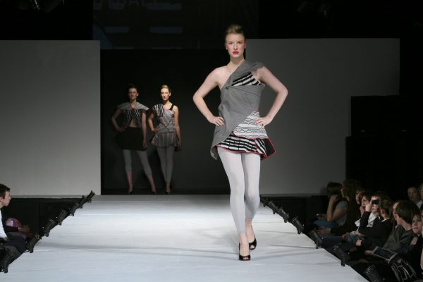 Catwalk at the Glasgow School of Art's fashion show | Image by McAteer Photo