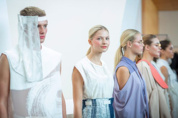 Catwalk at Glasgow School of Art fashion show | Image by McAteer Photo